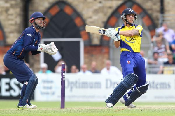 Chris Dent's unbeaten half century secured Gloucestershire victory over South Group leaders Essex. Picture: GAVIN ELLIS/TGS PHOTO