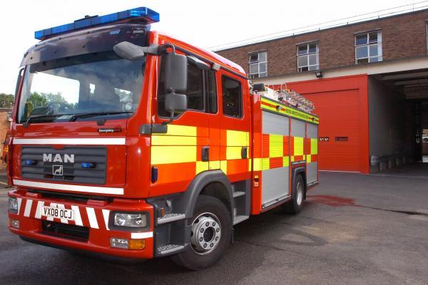 Woman badly burnt in chip pan fire