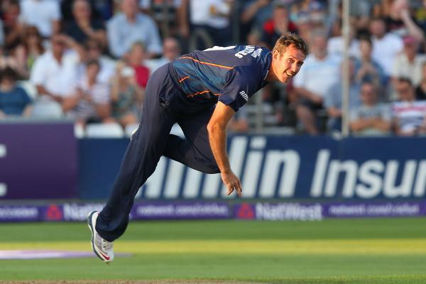 David Masters returned to bowling action for Essex. PIC: GAVIN ELLIS/TGS PHOTOS