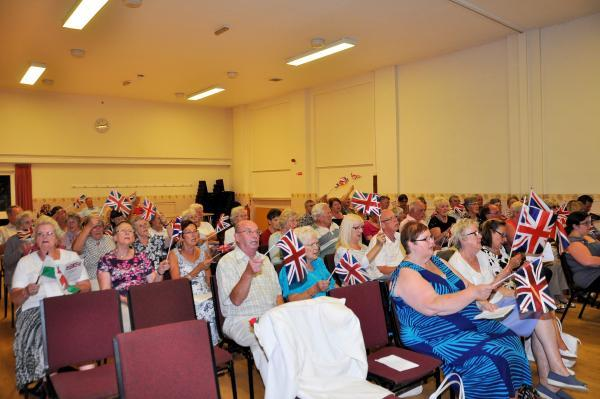 Residents got in the patriotic spirit at a concert