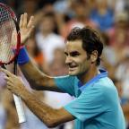 Halstead Gazette: Roger Federer bounced back in style after losing the first set (AP)
