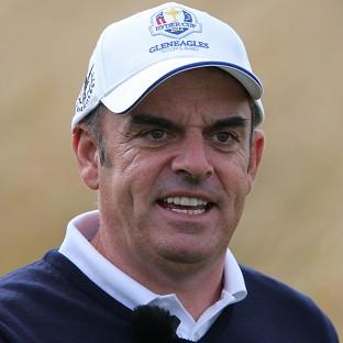Paul McGinley will name his wild car