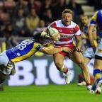 Halstead Gazette: Josh Charnley among the tries for Wigan