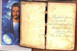 US librarian on mission to reunite stolen Bible with Castle Hedingham relative