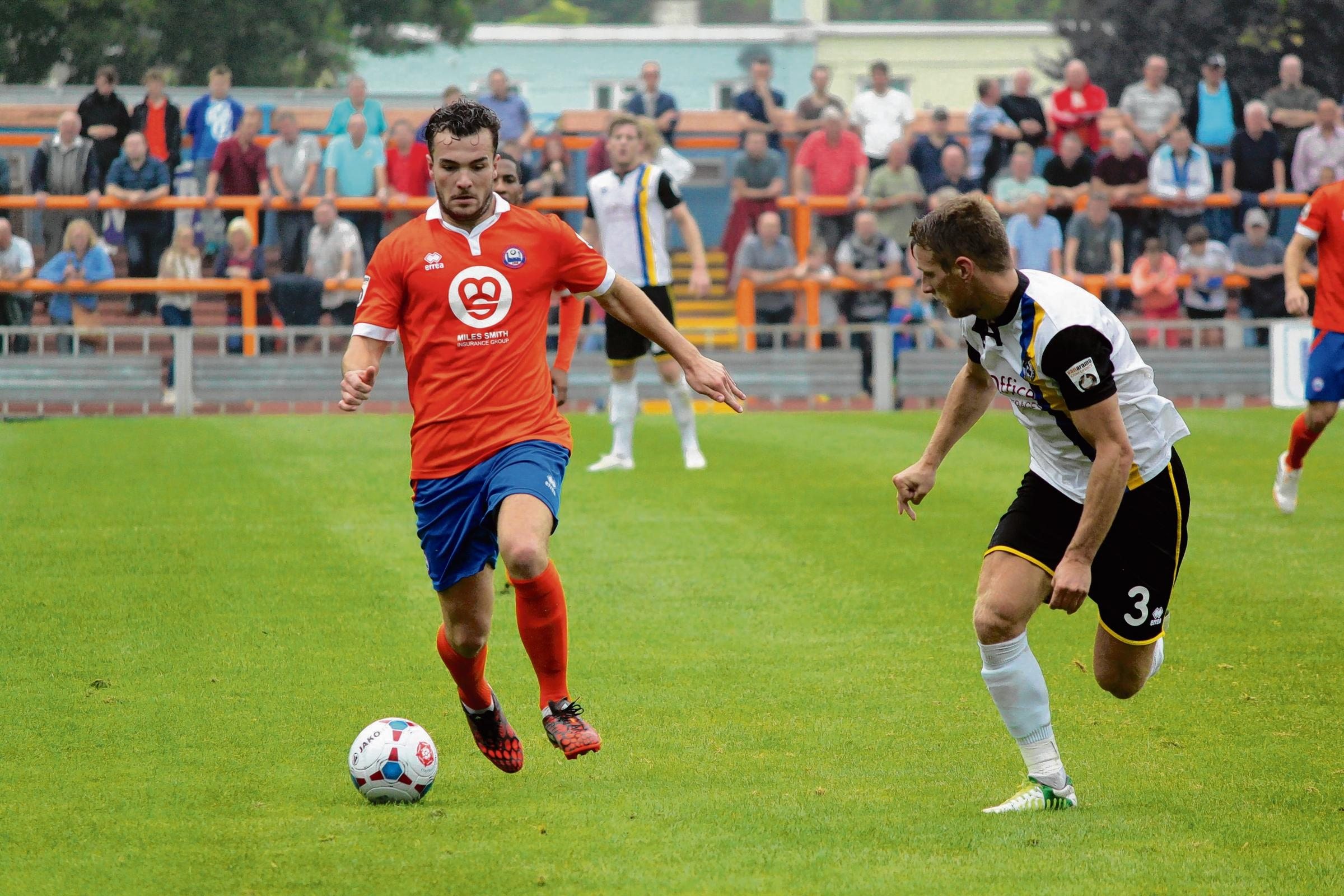 Mitch Brundle has headed to Hemel Hempstead on a month's loan deal. Picture: ALAN STUCKEY