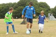 FEATURE: Footie star puts boot into pushy sideline parents