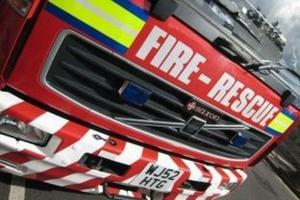 Halstead fire crew helps to put out Suffolk blaze