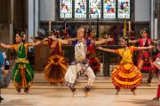 Dancers enthrall congregation at Chelmsford Cathedral