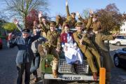 The Colne Engaine War Memorial project team
