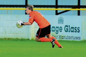Thurrock display should be a boost for Witham Town keeper Lewis