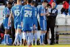 Rallying his troops - Kevin Keen wants to secure his first league win as Colchester United manager against Swindon Town on Saturday. Picture: STEVE BRADING CO114334_014