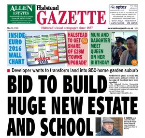 Halstead Gazette: In this week's Halstead Gazette: Lidl still wants to move to town despite vandalism; Donors face round trip as NHS ditches venue; Bright play centre back on the market; and much more