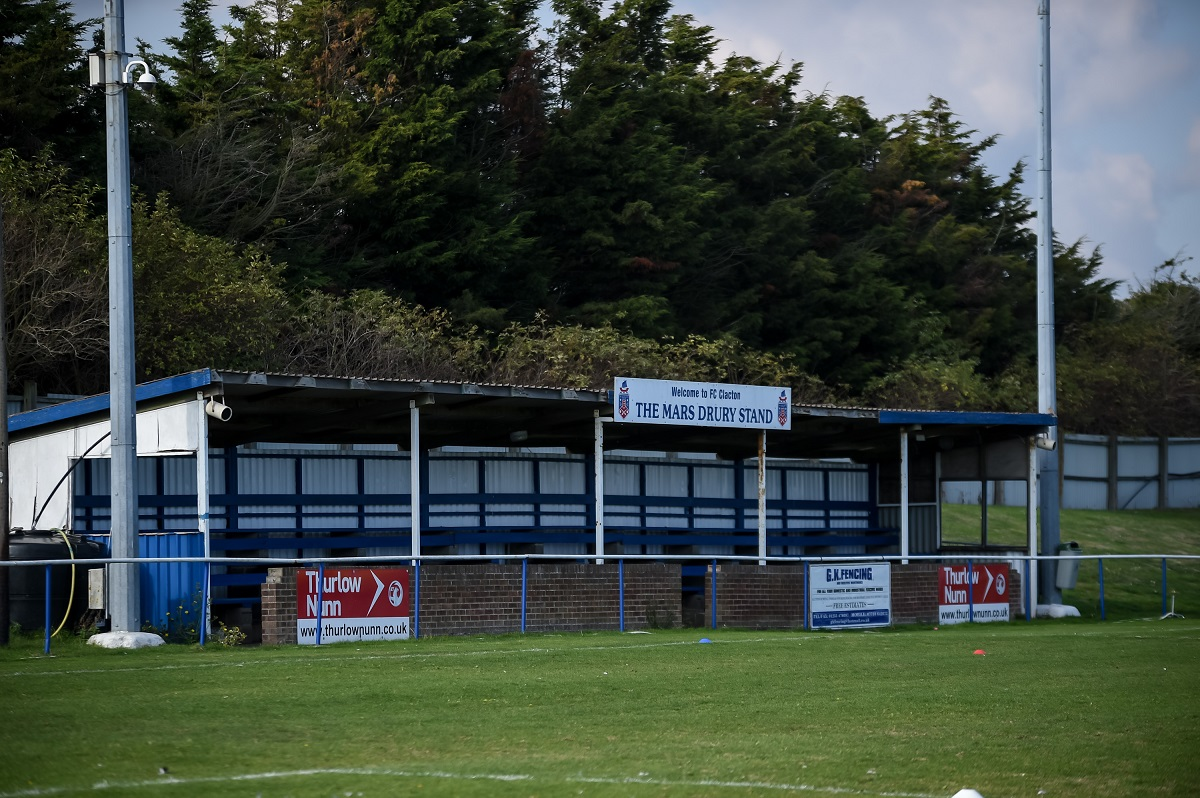 NON-LEAGUE: Wet weather forces postponement of Clacton's derby against Stanway