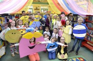 Halstead Gazette: In Pictures: Mr Men & Little Miss theme for World Book Day