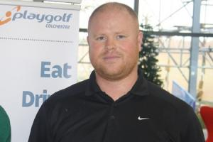 Triumph - Sam Southernwood won Playgolf Colchester's second Club Championships qualifier