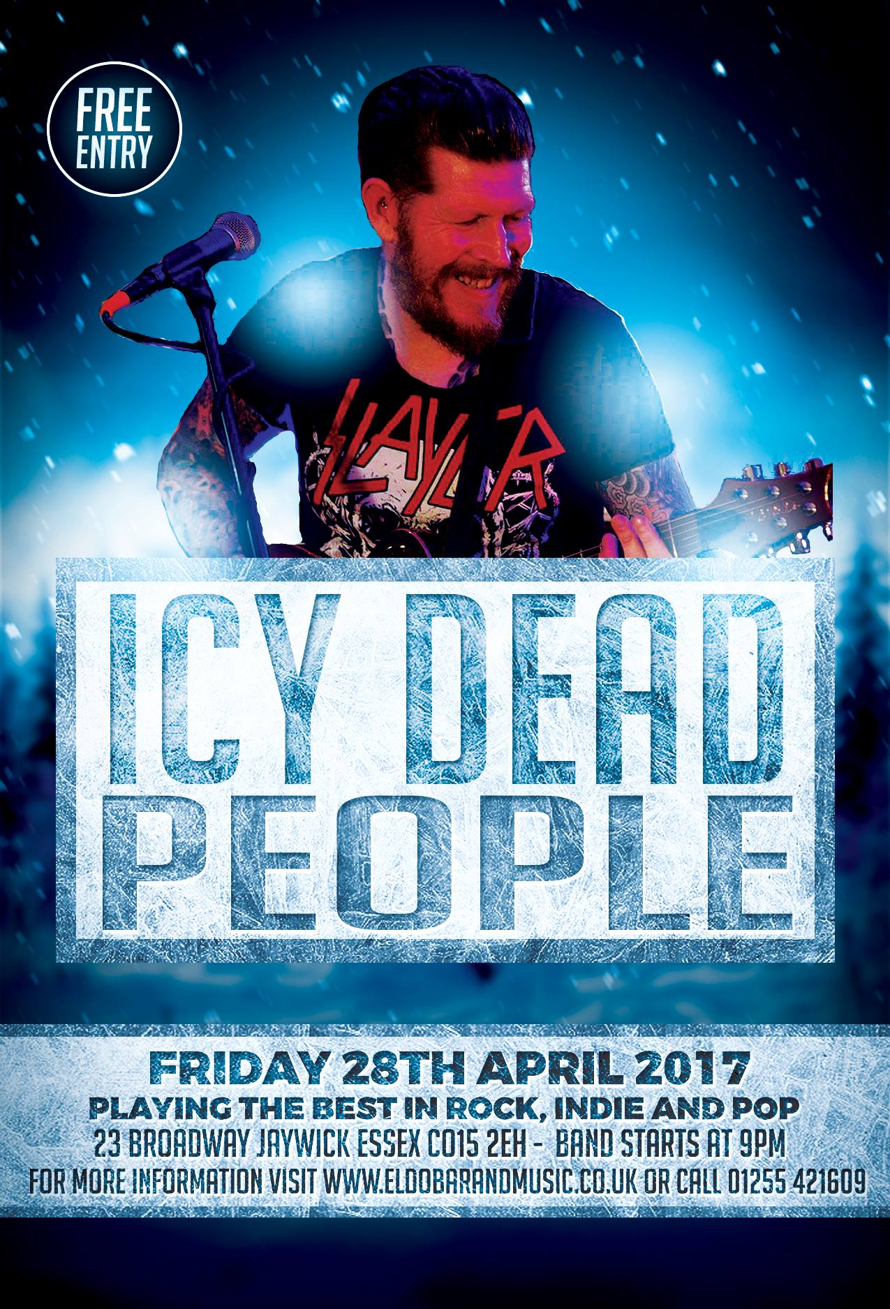 Icy Dead People Live at Eldo Bar
