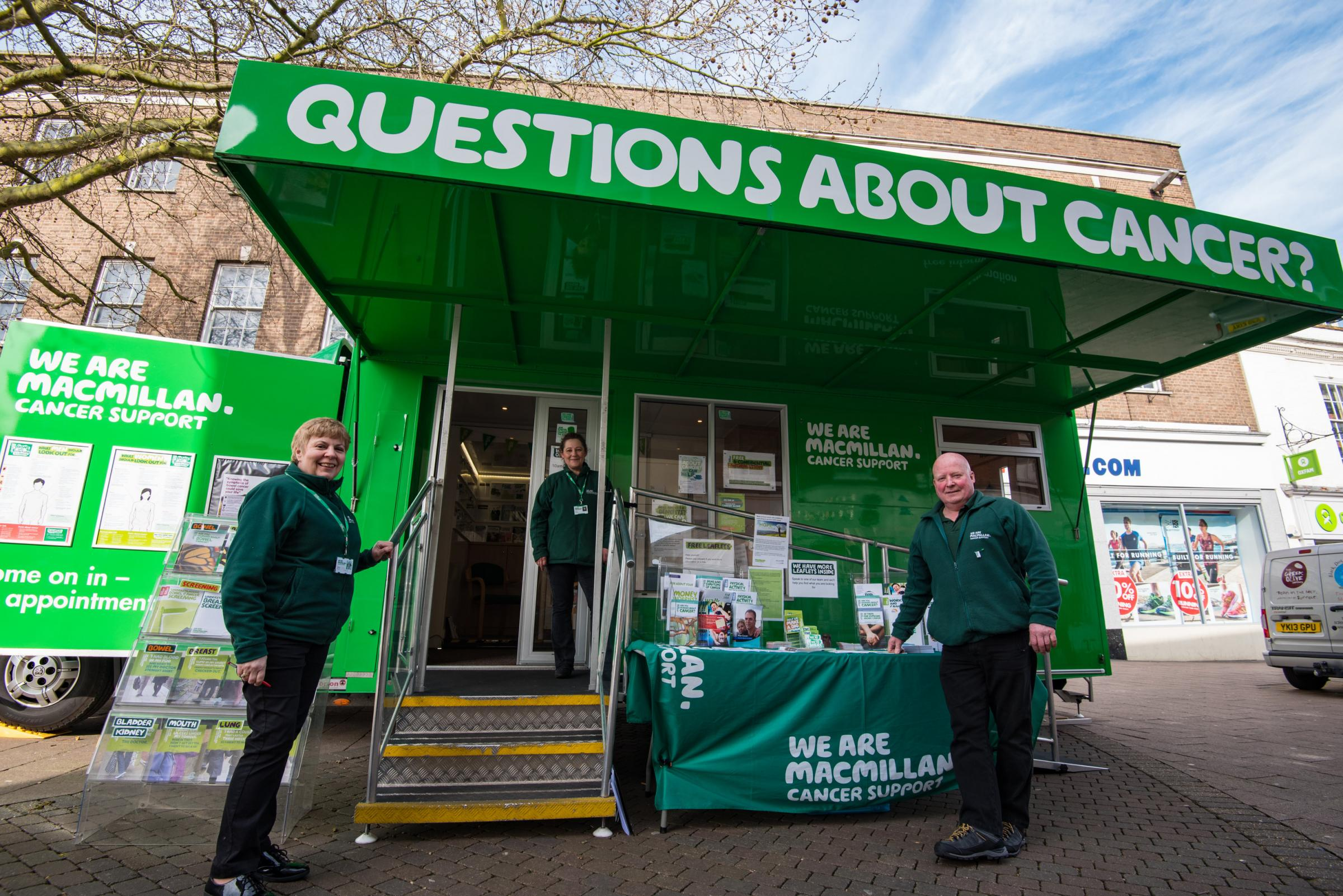 Macmillan Cancer Support Information Service in Jaywick
