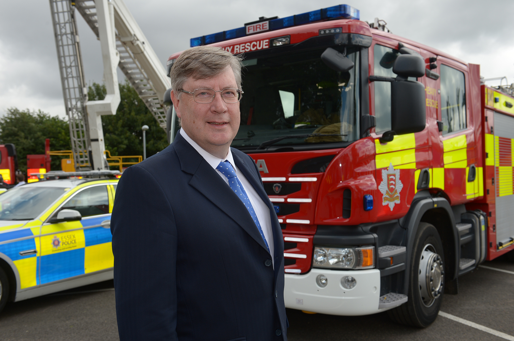 Funding - police, fire and crime Commissioner for Essex Roger Hirst