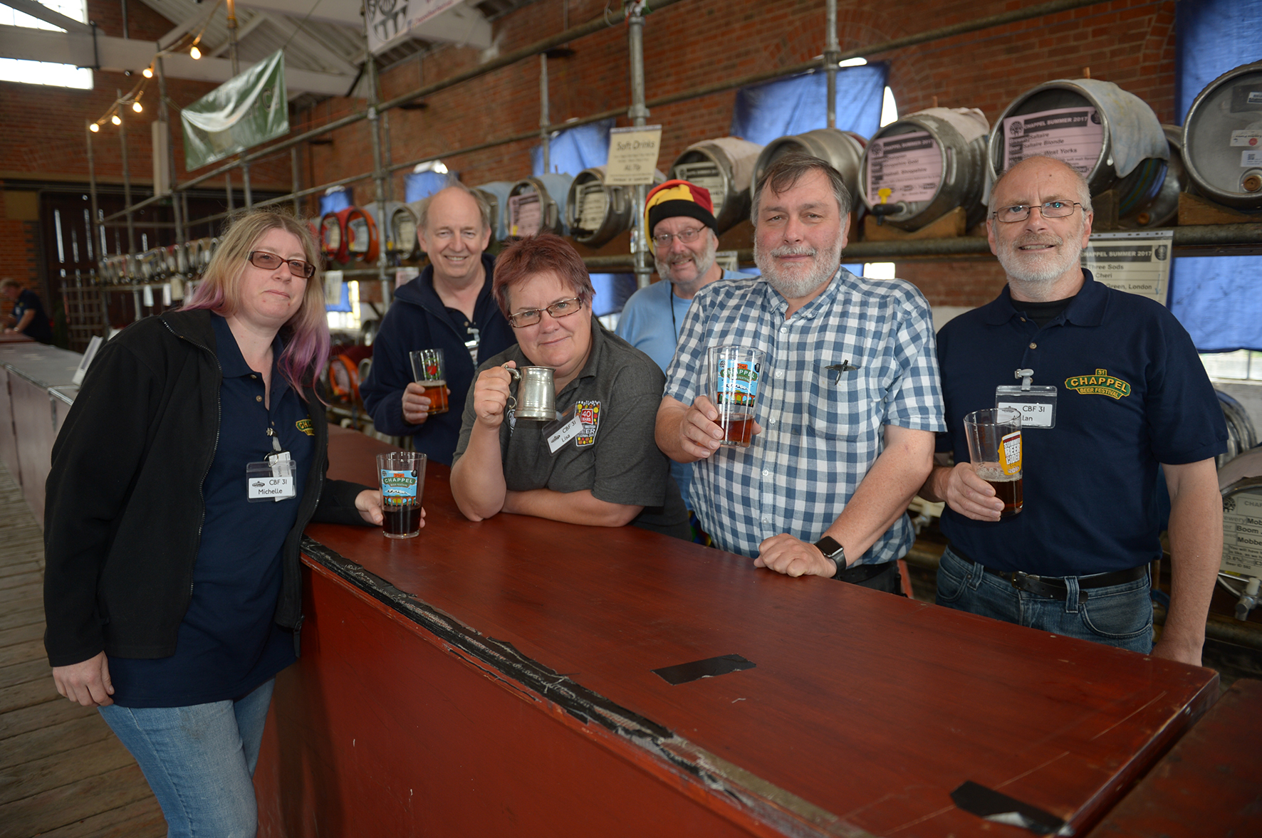 All aboard for museum's annual beer festival