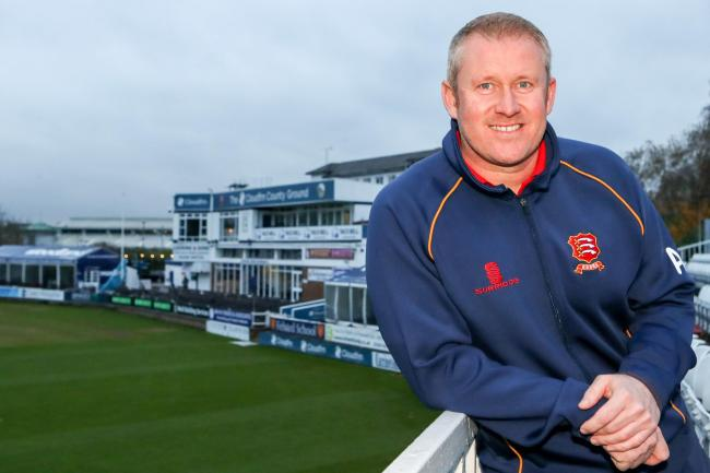 Enduring a tough time - Essex coach Anthony McGrath