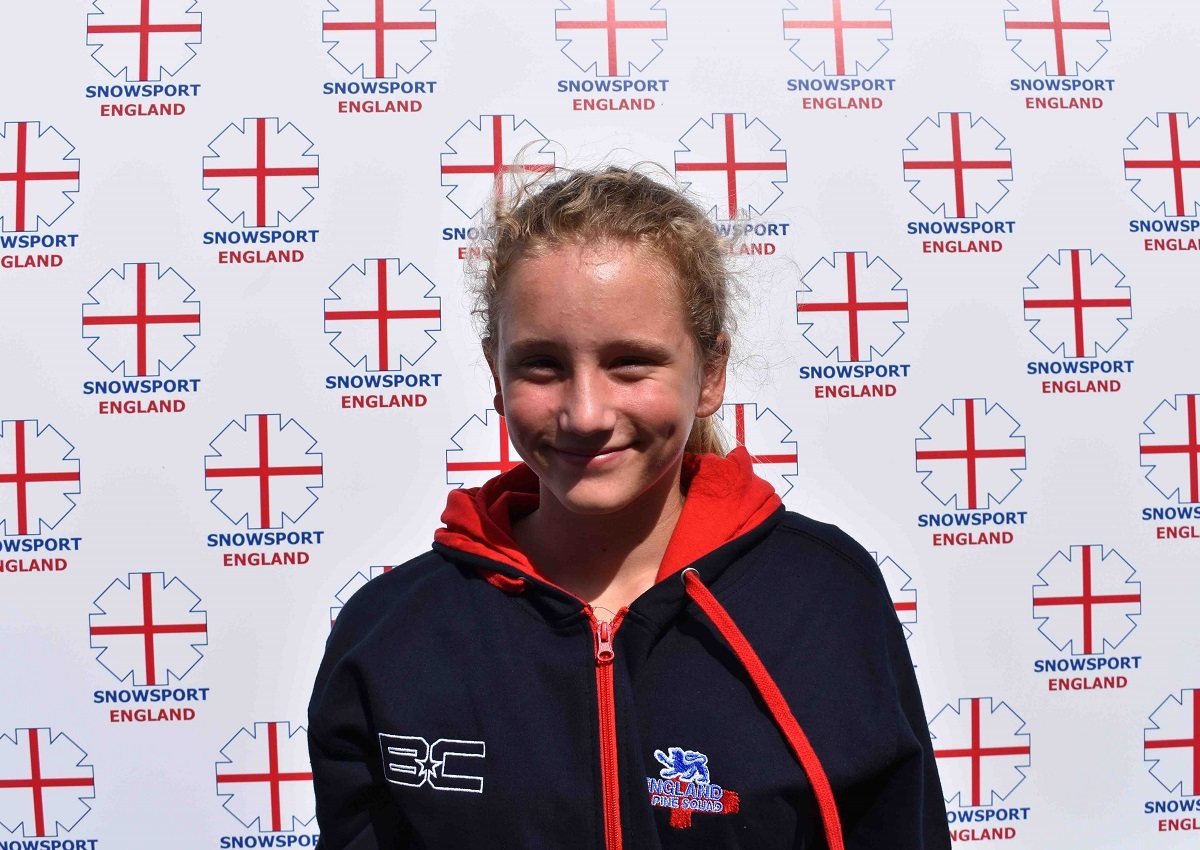 Colchester's Sophie Hughes has been selected to the England under-14 Alpine Ski Squad for the 2017/18 season