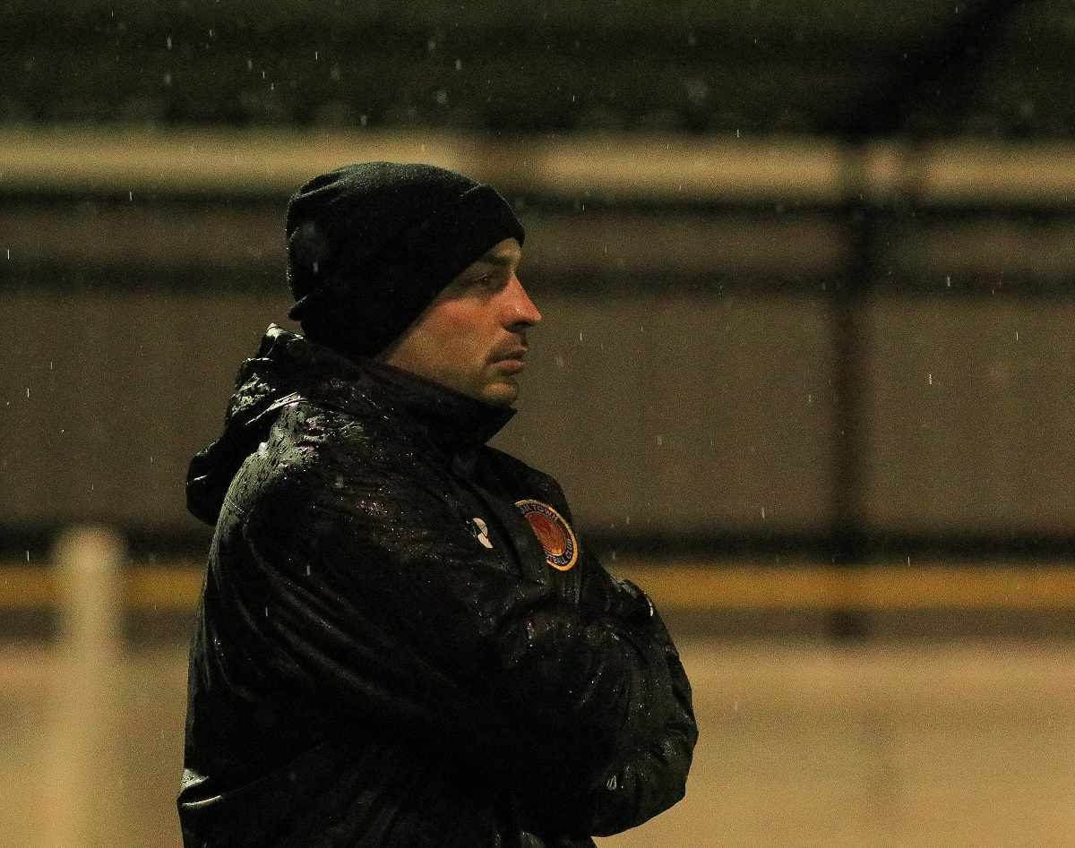 Witham assistant manager James Robinson. Picture: Jim Purtill