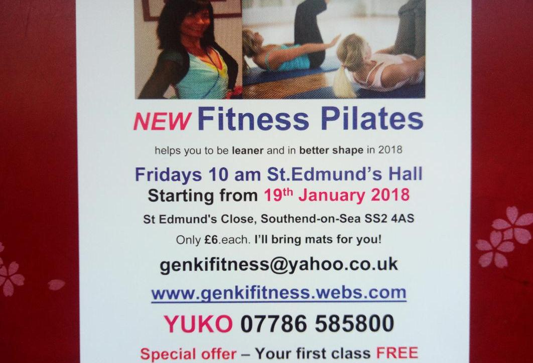 NEW Friday mornings Fitness Pilates Southend-on-Sea