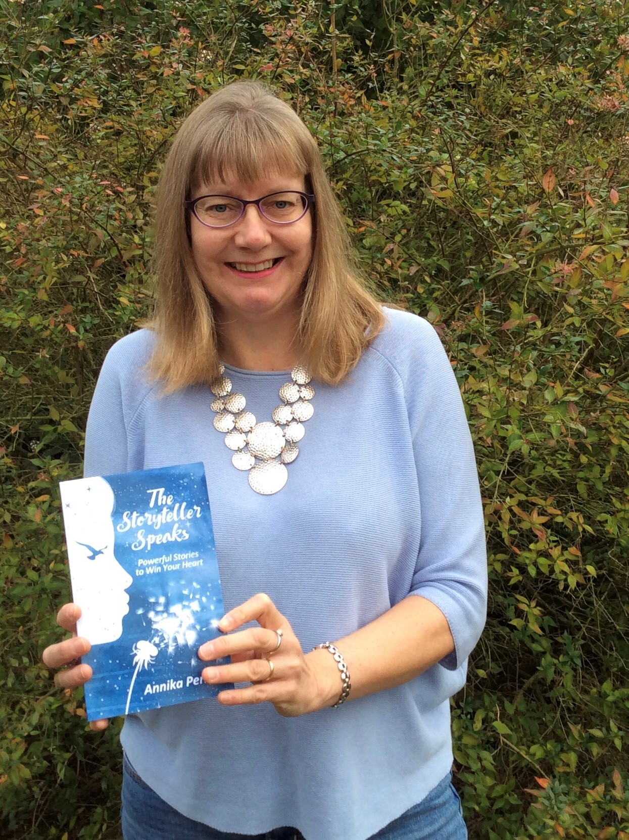 Annika Perry has published her very first book