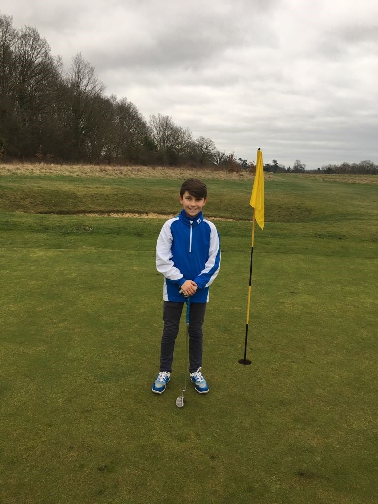 Colne Valley Golf Club junior Bradley Cattermole has been selected for the Essex squad after impressing ininitial county  trials.