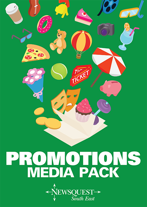 Halstead Gazette: Promotions media pack fp 7th feb 2018