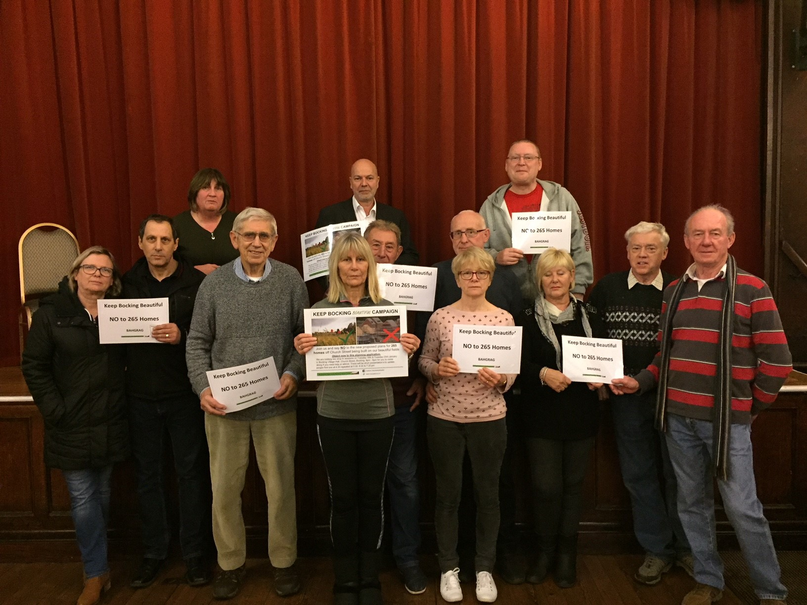 Victory for campaigners over 40 home estate