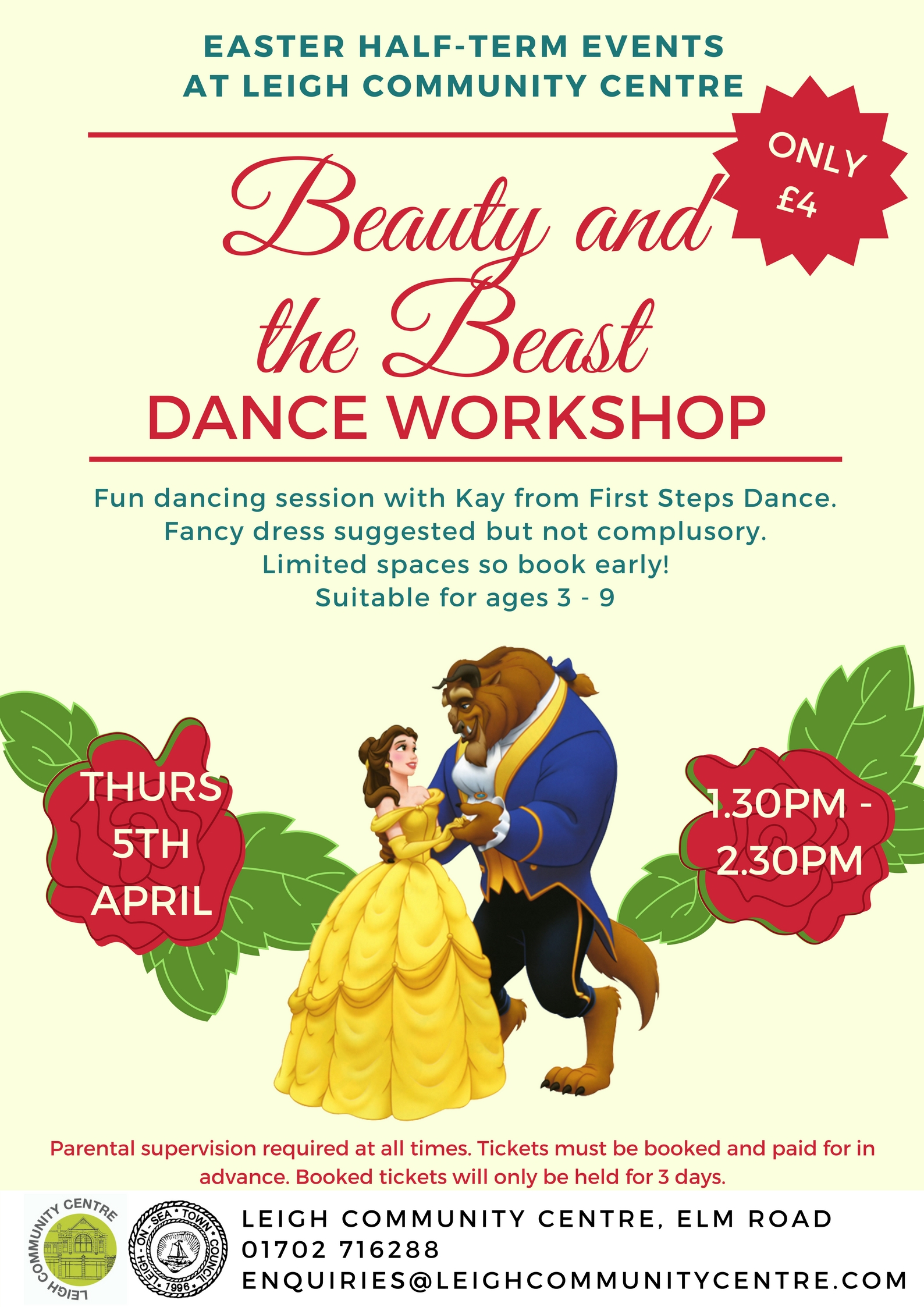 Beauty and the Beast Dance Workshop