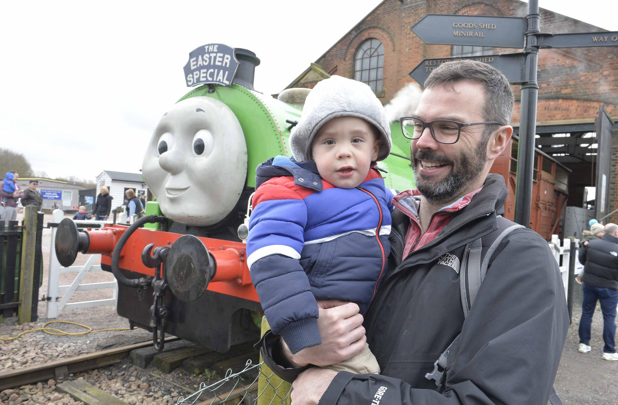 Thomas and friends coming to railway museum