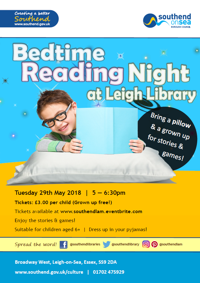 Bedtime Reading Night at Leigh Library
