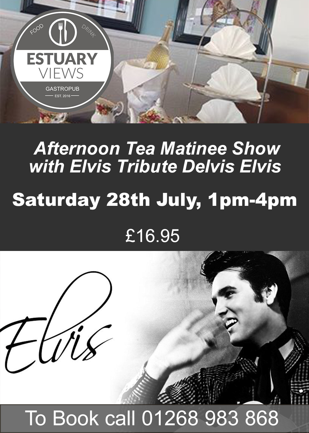 Afternoon Tea with Elvis