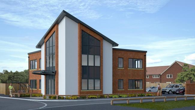 Osier House forms part of the overall plans for Sible Hedingham