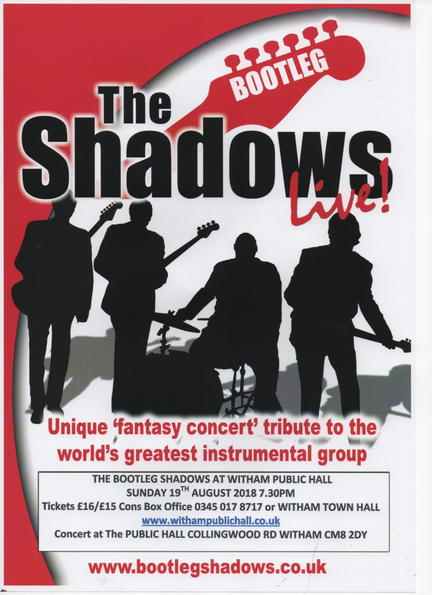 Tribute to 'The Shadows'.