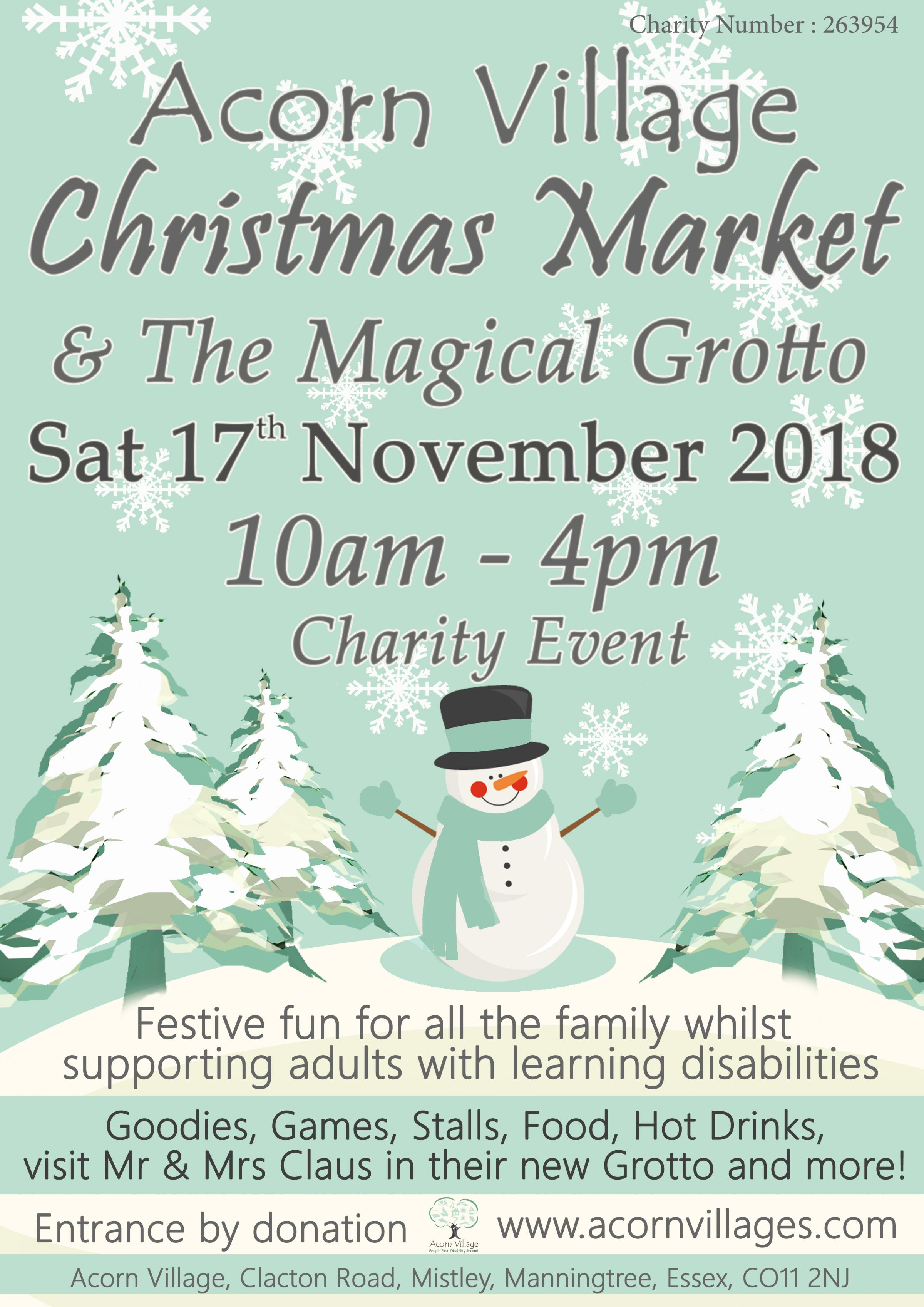 Charity Christmas Market & The Magical Grotto