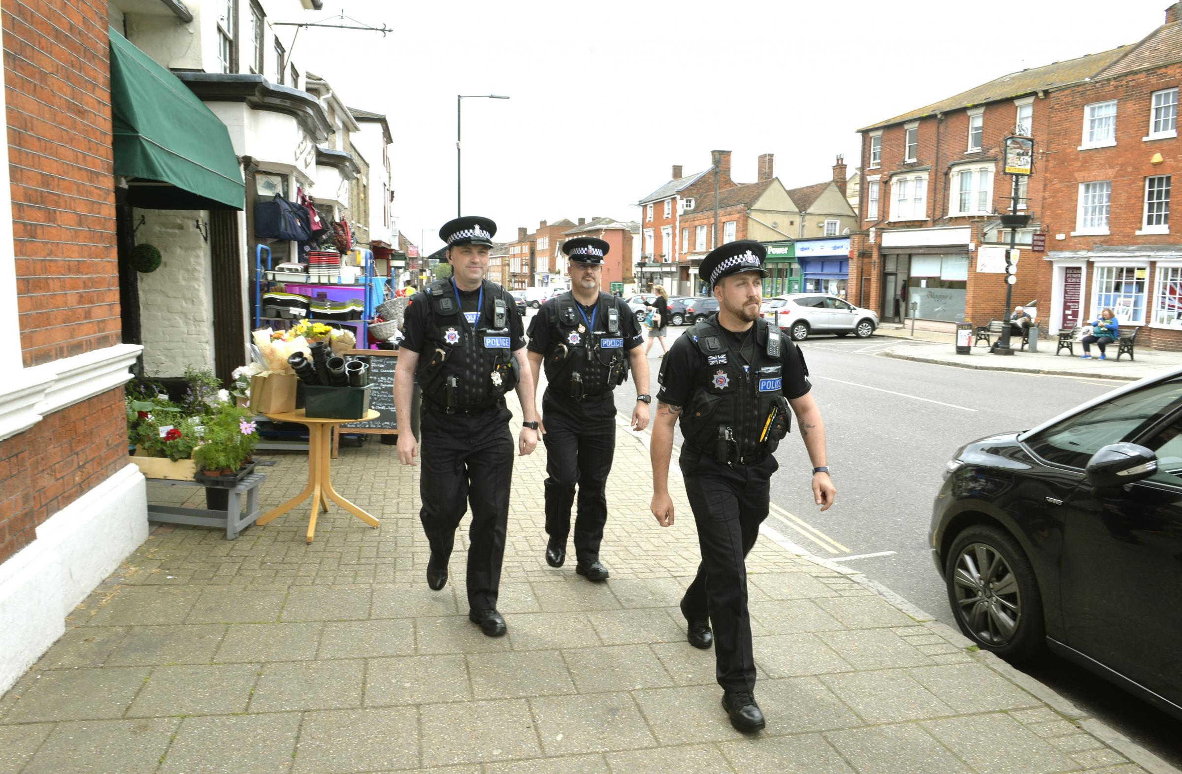VOLUNTEERS: The specials scheme has successfully launched in Witham