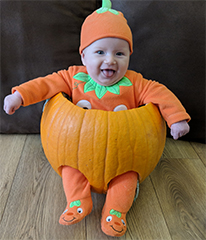 Halstead Gazette: Little Pumpkin Pic 1 Dotty Burns