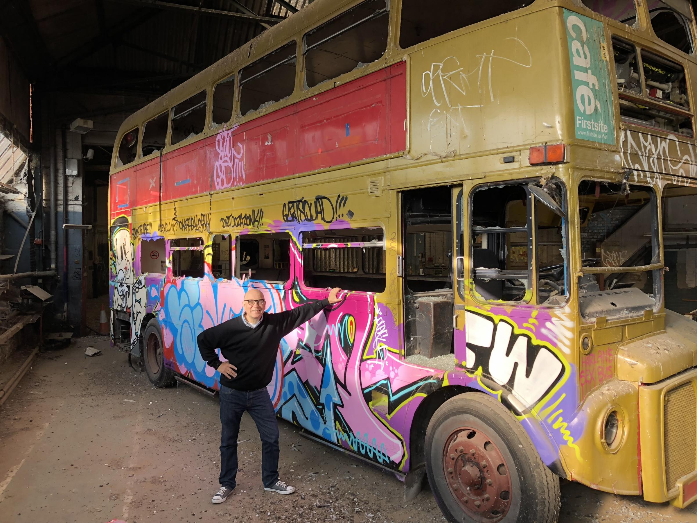 Anthony Roberts' magic bus