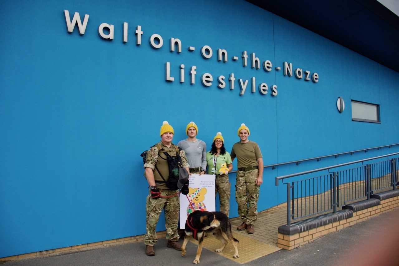 Heartwarming support for Children in Need across leisure centres