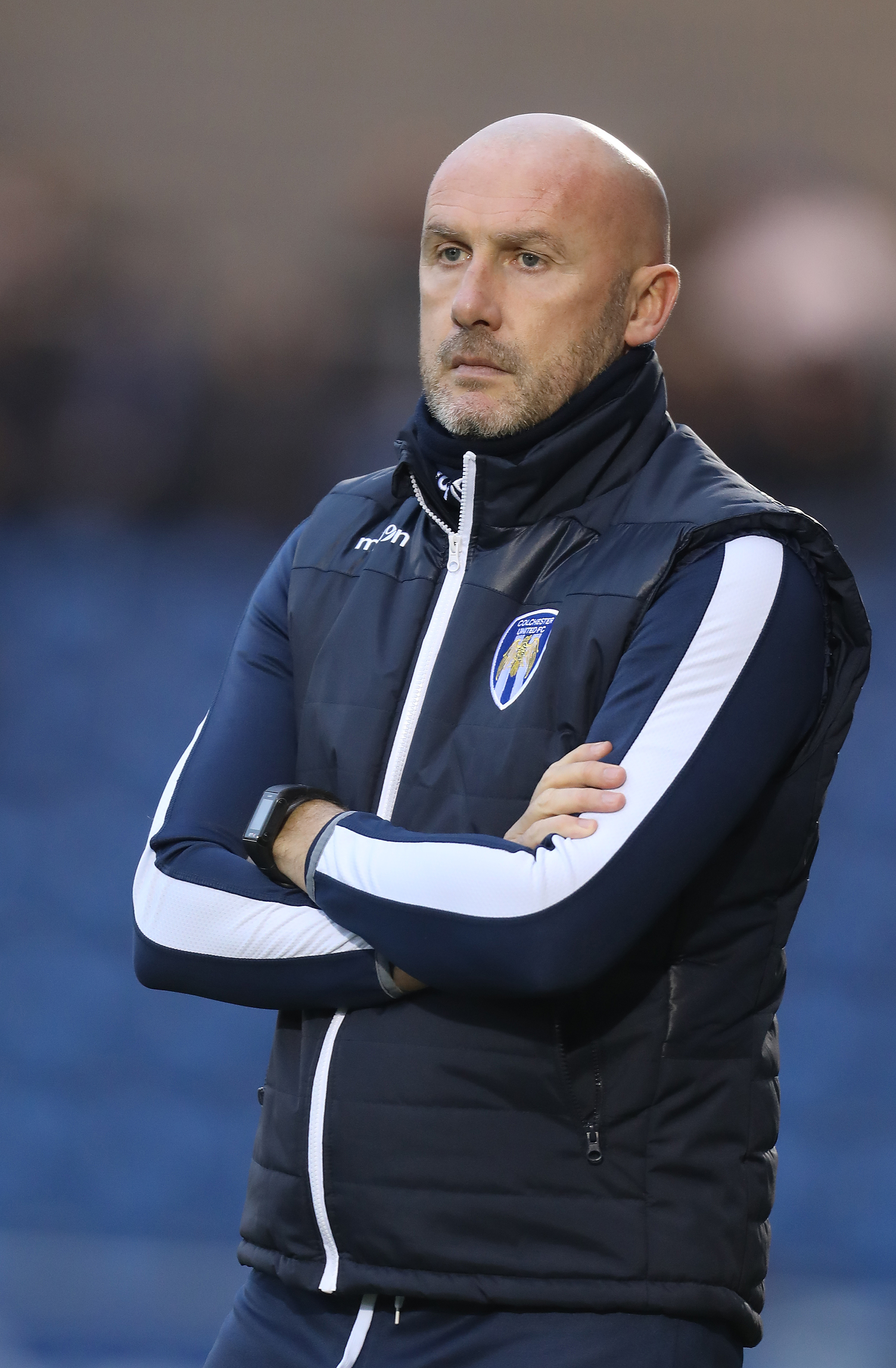 Return to action - Colchester United head coach John McGreal is looking forward to seeing his side take on Macclesfield Town Picture: STEVE BRADING