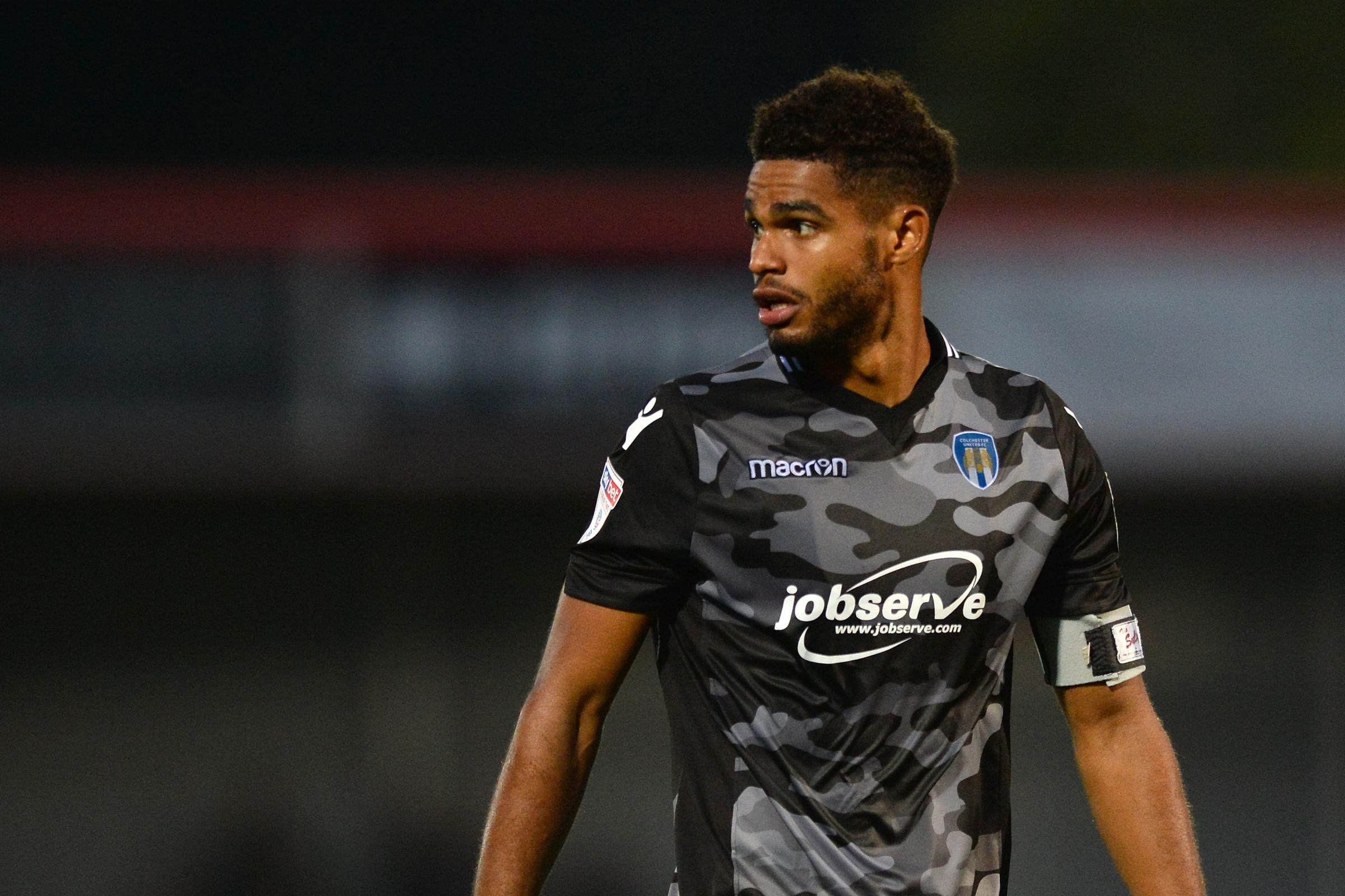 Back in the fold - Mikael Mandron has started Colchester United's last two league games Picture: RICHARD BLAXALL