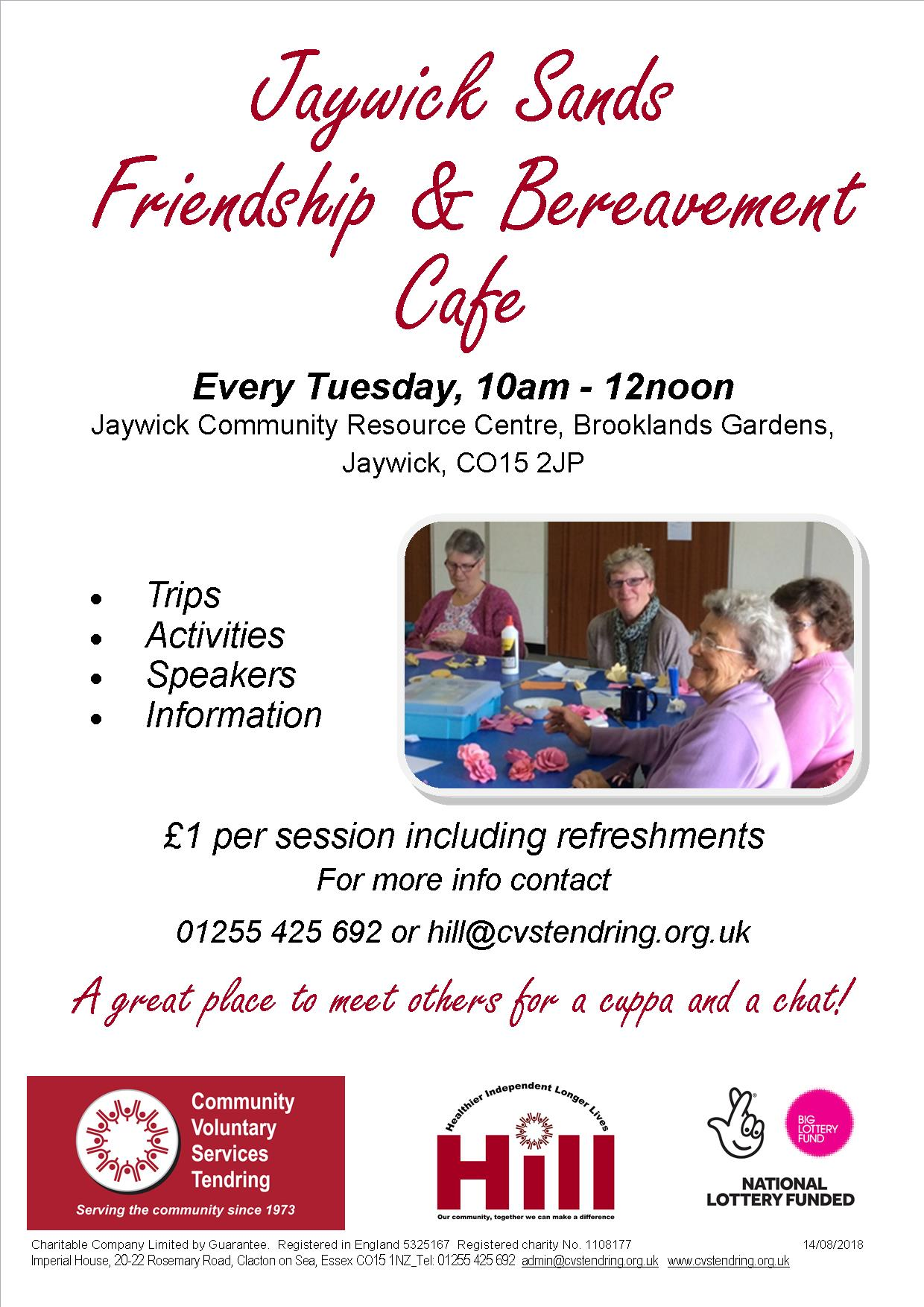 Jaywick Sands Friendship & Bereavement Cafe