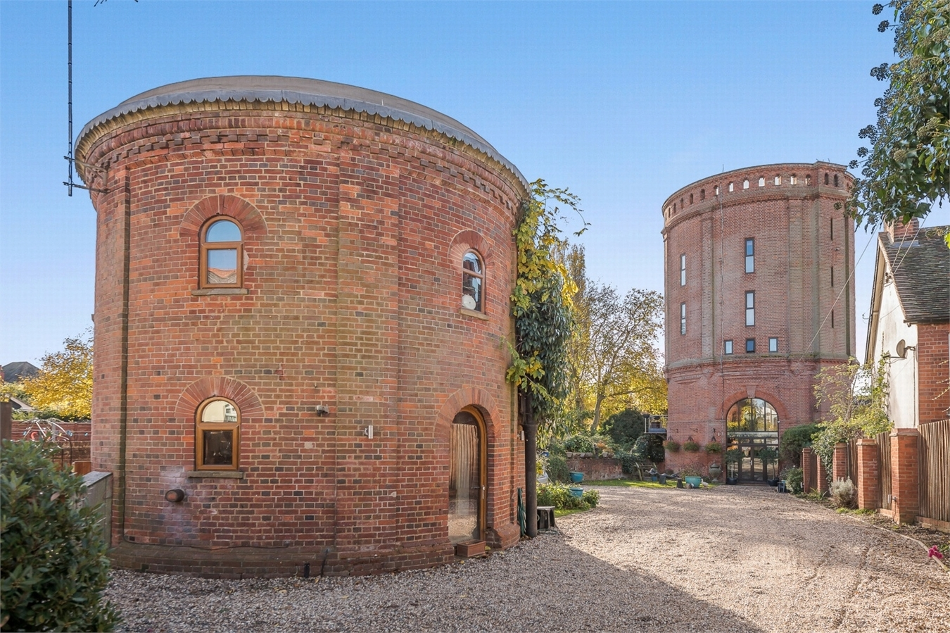 UNIQUE PROPERTY: The former water tower is now on the market