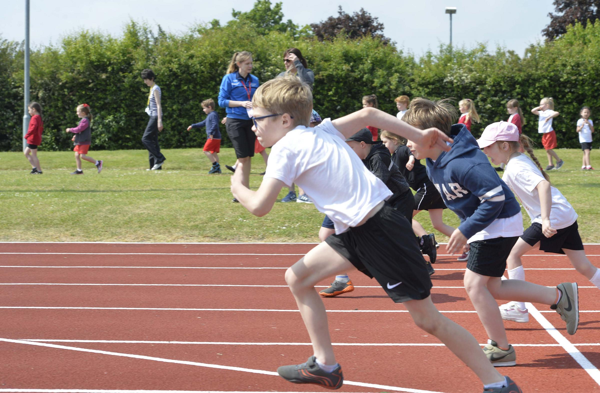 The race is on for parents. Photo: Newsquest