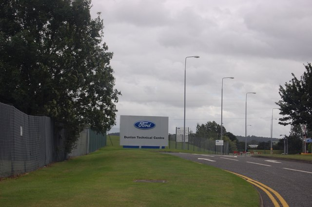 Safe - Ford Dunton Technical Centre is believed to be unaffected in immediate cuts