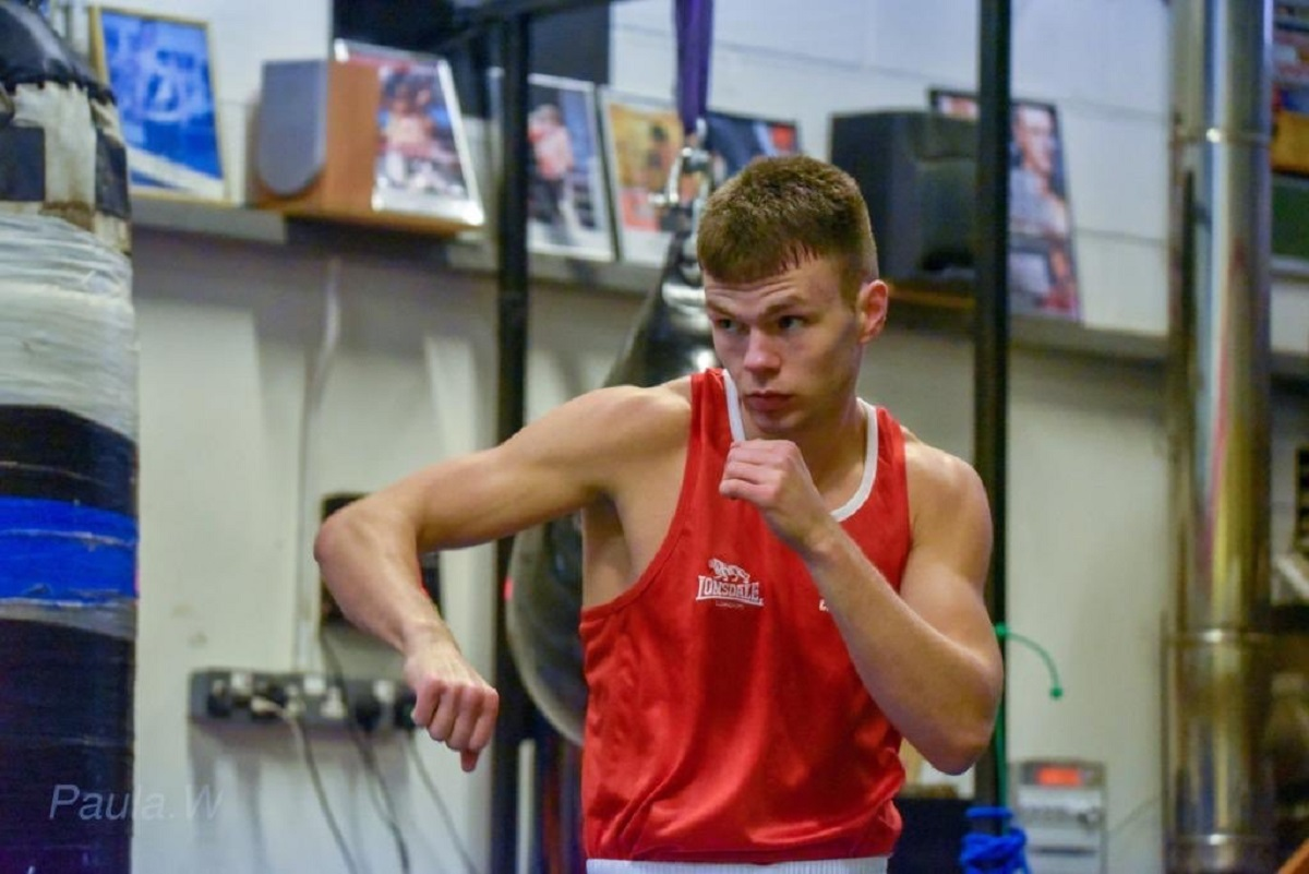 Packing a punch - Lewis Richardson is going for gold in Valencia