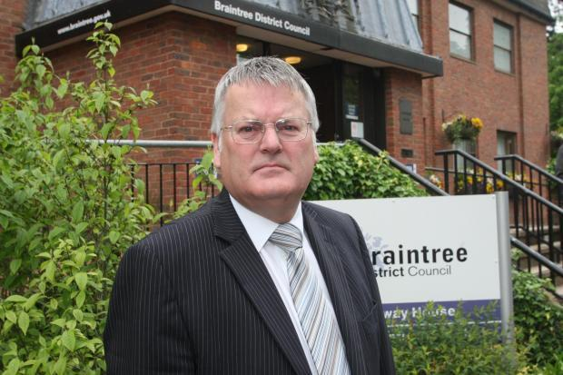 Braintree Council leader Graham Butland
